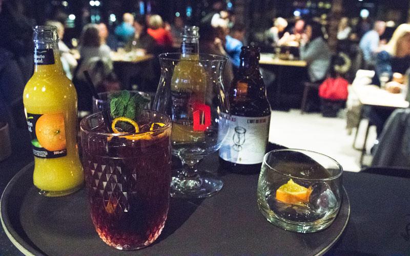 Heerlijke cocktails en soft drinks